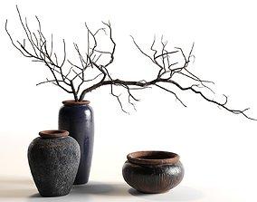 Branches in Vases 3D model