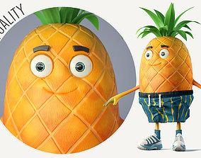 3D model Pineapple Boy