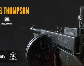 M1928a1 Thompson 3D model