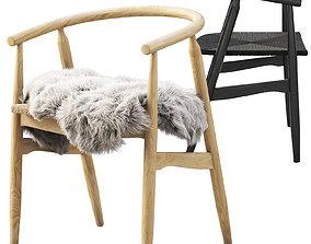 3D model Joybird Rayne Dining Chair 2 options