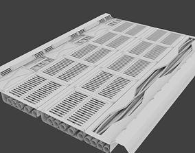 3D Floor panel Sci Fi