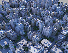 City district 3D model