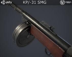 KP31 Submachine Gun 3D asset