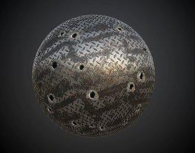 Metal Plated Seamless PBR Texture 3D model