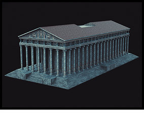 3D asset game-ready Temple Of Artemis