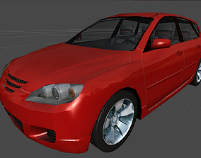 Mazda Car 3D asset