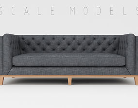 cushion 3D model Sofa