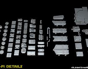 Sci Fi Details 3D
