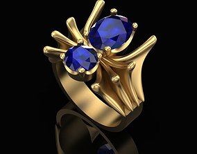 3D print model Ring of the Sapphire Spider