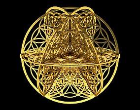 Flower of Life 3D pendant