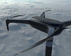Drone 3D model dji low-poly