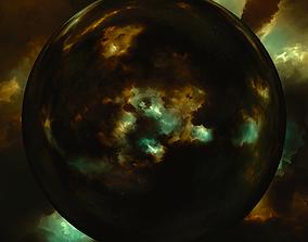 3D Nebula Space Environment HDRI Map 018