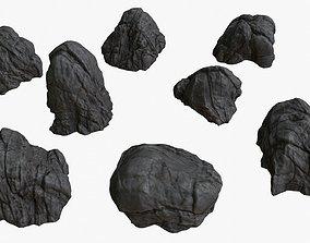 Volcanic Rocks 02 3D model