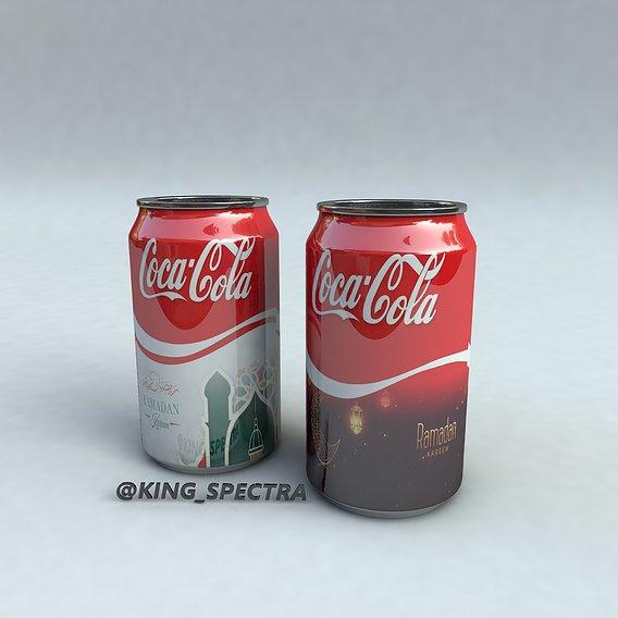 A concept design for coca cola for the season of Ramadan