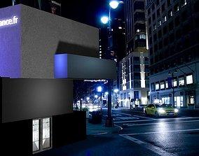 scene hostel preready 3D model