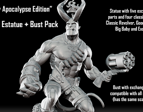 Hellboy Apocalypse Edition - Statue and 3D print model 1