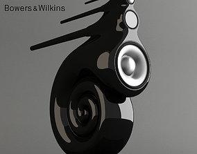 3D bowers wilkins Nautilus speaker