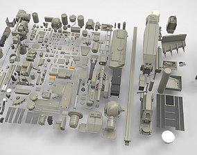 3D model Mechanics collection 1 Kitbash