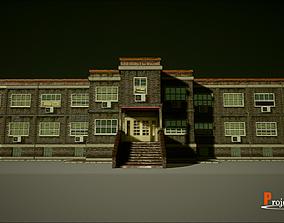 bar 3D asset UE4 Modular School Package
