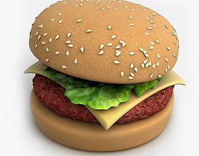 3D Hamburger