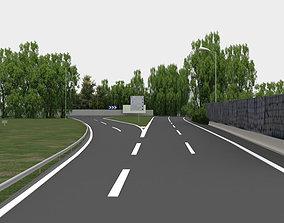 highway navigation 3D road