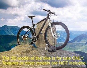 3D MTB Cube bike