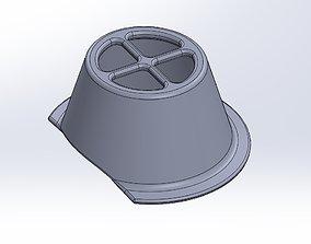 3D printable model Mask Raiser-Inlet For Fabric Masks