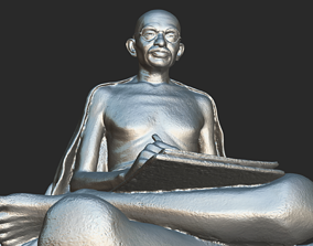 delhi Gandhi with letter 3DP