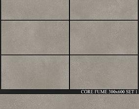 Yurtbay Seramik Core Fume 300x600 Set 1 3D