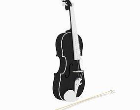 3D Violin cello