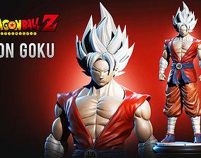 3D print model Son Goku Super Dragonball Fanart
