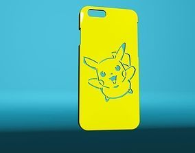 3D printable model Iphone Picachu