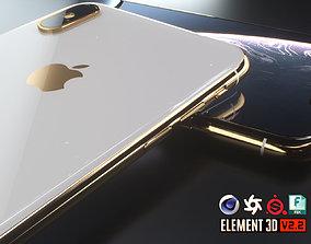 3D asset iPhone XS Max