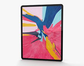 3D Apple iPad Pro 12-9-inch 2018 Silver