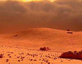 Mars Landscape 3D