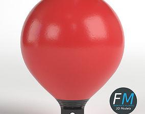 3D model Beach marker buoy