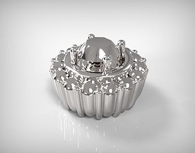 3D printable model Jewelry Silver Part Round Shape