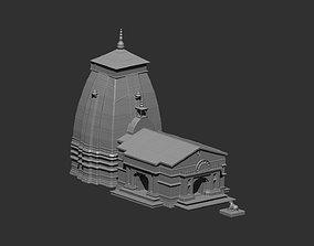 Kedarnath Temple 3D printable model