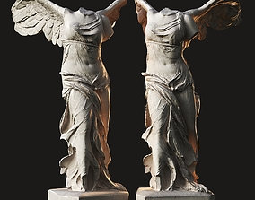 Winged Victory of Samothrace 3D asset