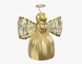 3D model Christmas angel decoration
