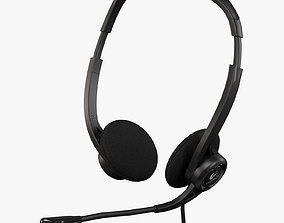 Logitech PC Headset 960 USB 3D model