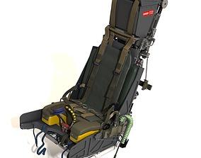 cockpit Martin baker Mk10 Ejection Seat 3D model