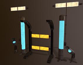 3D model Industrial lamps