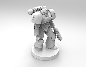 warhammer space marine 3D print model