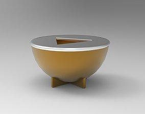 3D asset Bauhaus Ash tray