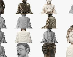 Buddha Statues 3D model