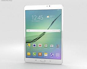 3D Samsung Galaxy Tab S2 8-0 Wi-Fi White