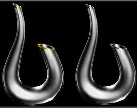 3D model Metal Line Carafe