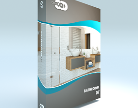 Bathroom 07 3D asset