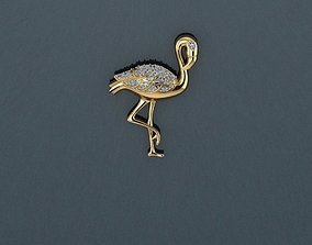 Swan Pendant 3D print model swan